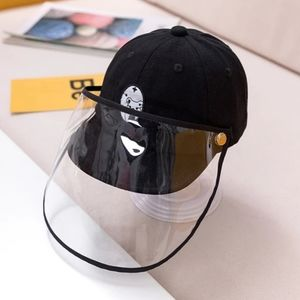 Kids Protective Cap Hat Dustproof Cover Black